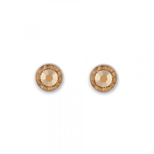 Ohrringe Swarovski® Kristalle beige 0042_21-1000