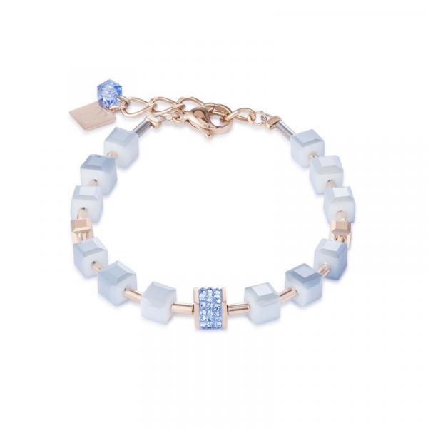 Armband Pavé-Kristalle Swarovski® Kristalle hellblau 4953_30-0720