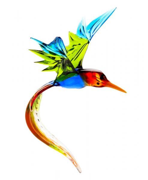 Paradiesvogel aus Glas zum Hängen (V2) BC-PV2