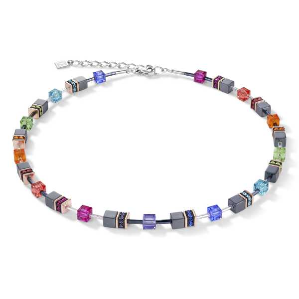 GeoCUBE® Halskette multicolor
