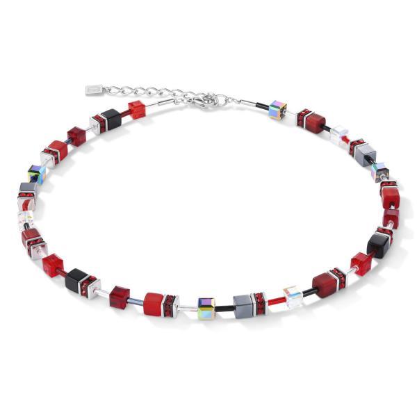 GeoCUBE® Halskette rot-hämatit 4014_10-0312